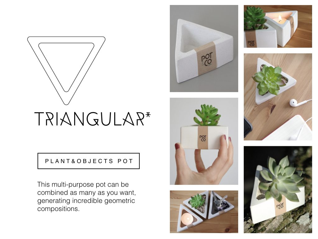 Triangular - Pot&Co by Nucci