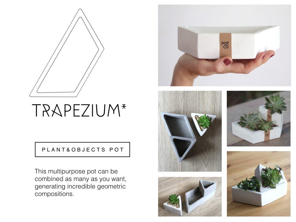 Trapezium - Pot&Co by Nucci
